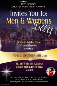 men&womensday