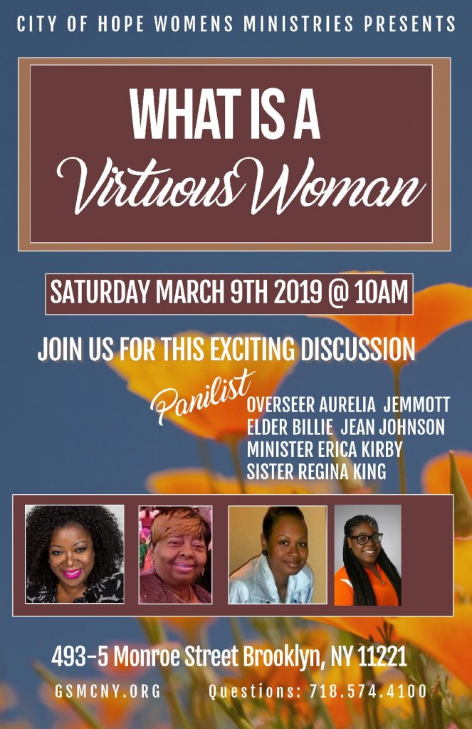 Virtuous Woman - Panel Discussion